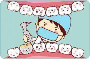 Empaste, Odontopediatria, Tratamientos dentales