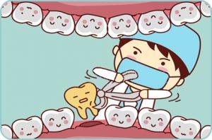 Extracción de dientes de leche, Odontopediatria, Tratamientos dentales