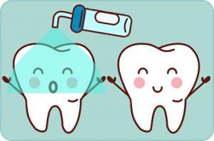 Sellado de fisuras, Odontopediatria, Tratamientos dentales