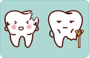 Traumatismo dental, Odontopediatria, Tratamientos dentales